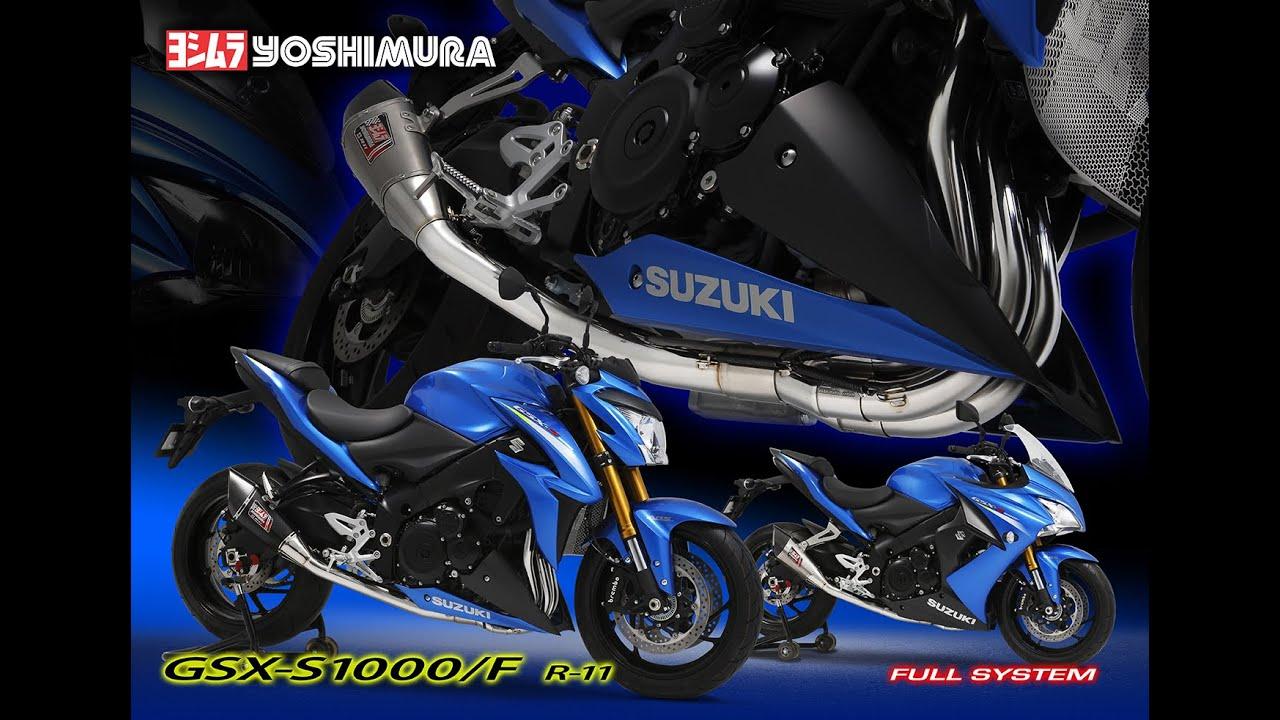 yoshimura gsx-s1000 (r11) full systemwww.ahlam.hk - youtube