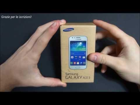 Samsung Galaxy Ace 3 LTE unboxing ita da EsperienzaMobile
