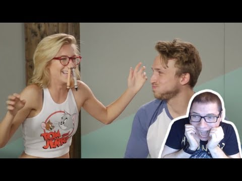 Smosh Pit's TRY NOT TO LAUGH CHALLENGE #15 Reaction