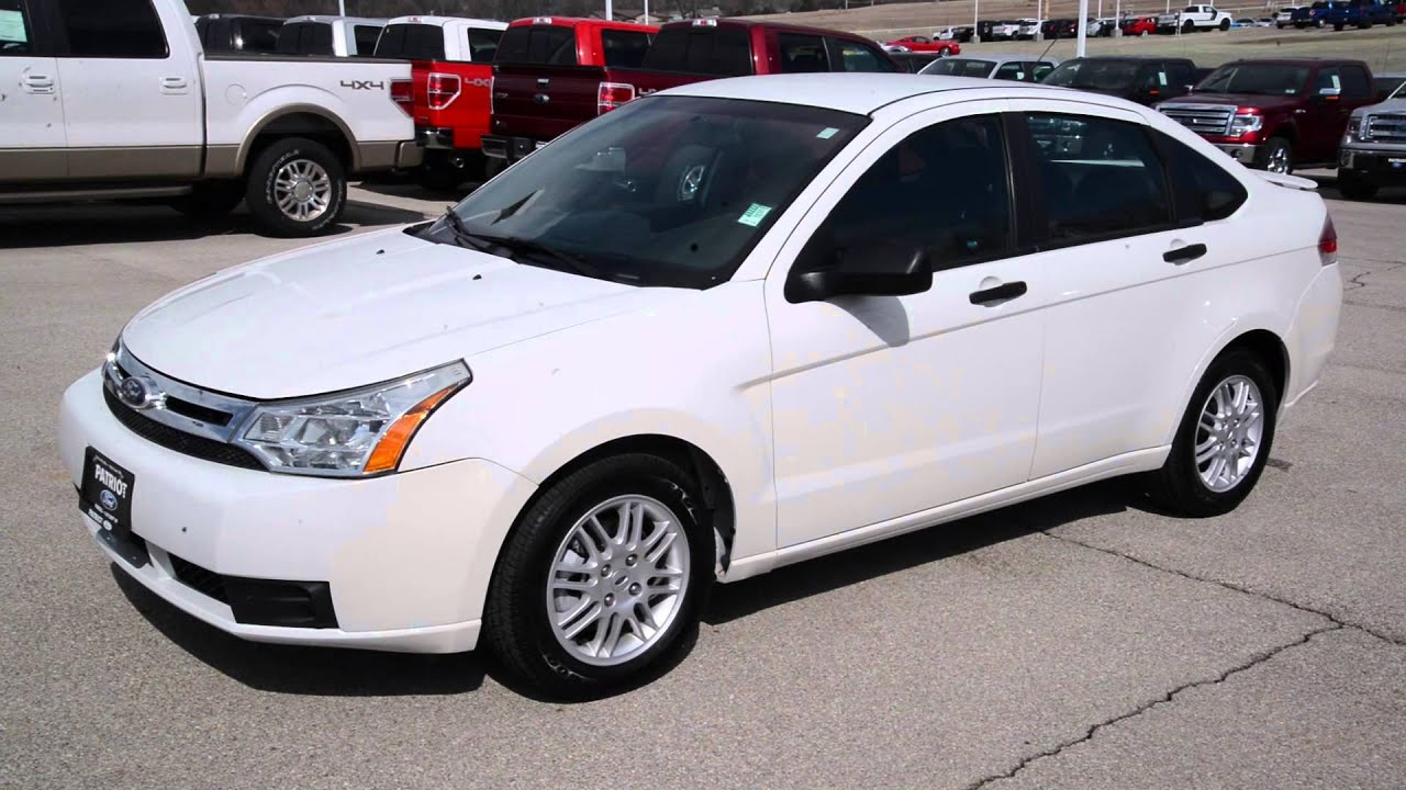 patriotford presents 2010 ford focus se dw0144 white in purcell ok near oklahoma city. Black Bedroom Furniture Sets. Home Design Ideas