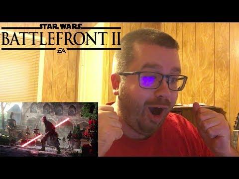 Star Wars Battlefront 2: Official Gameplay Trailer Reaction!!!
