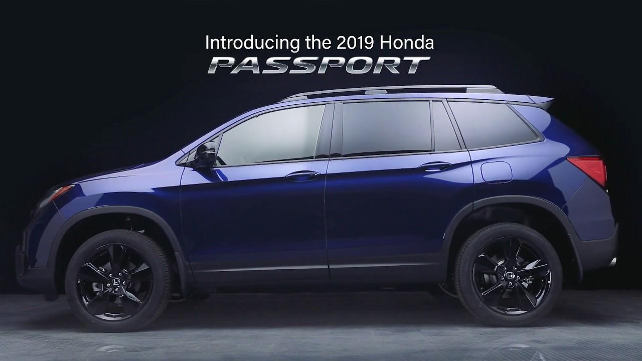 The All New 2019 Honda Passport Youtube