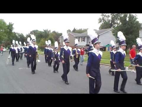 2013 Old Mill High School Marching Band Parade Millersville