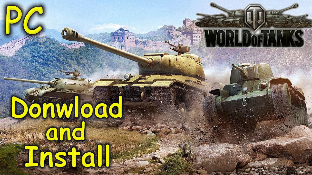 How to install World of Tanks