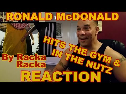 Ronald McDonald Hits the Gym Reaction - YouTube