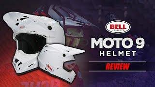 Bell Moto 9 w/ MIPS Helmet Review | BikeBandit.com