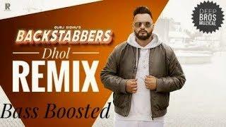 "Backstabbers Latest Song Dhol Remix   Gurj Sidhu Feat Manni Sandhu   Deep Bros Muzical.."""