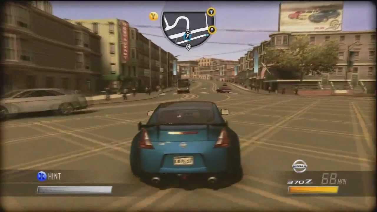 Driver San Francisco Xbox 360 Gameplay 720p Hd Youtube
