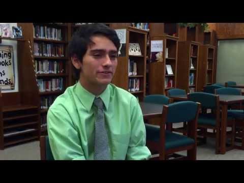 Elyria Catholic High School Senior Jonathan Lesiecki