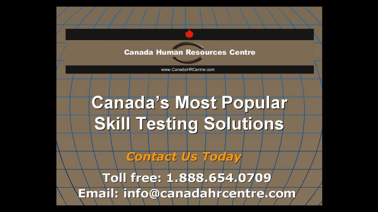 Skill Testing, Know What New Employees Can Really Do | Canada Human