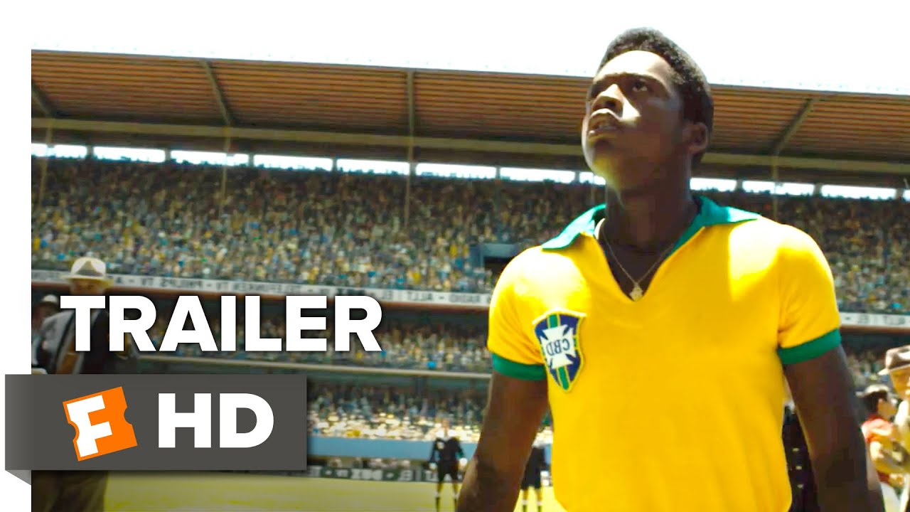 Pelé: Birth of a Legend Official Trailer 1 (2016) - Rodrigo Santoro, Seu Jorge Movie HD