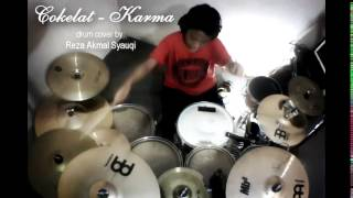 COKELAT - Karma (drum cover by Reza Akmal Syauqi)