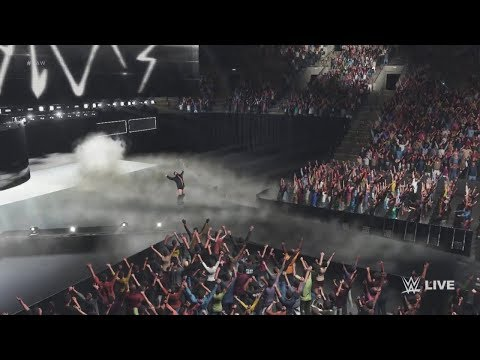 WWE 2K18 - All Entrances (Officially Released)