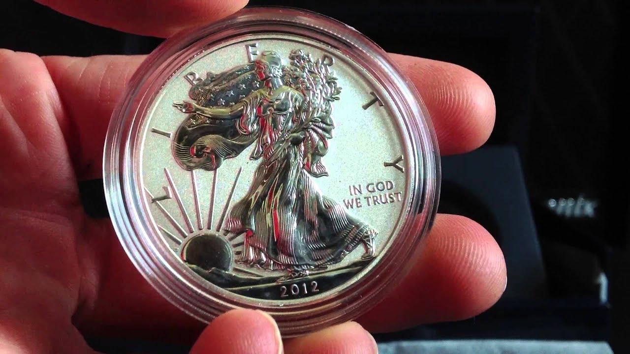 2012 San Francisco 2 Coin American Eagle Silver Dollar