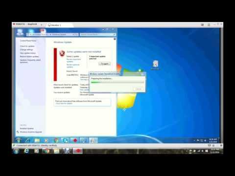 Fix windows update error 80073712 in windows 7