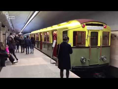 Bakı metrosunun 50 il əvvəlki qatarları belə idi