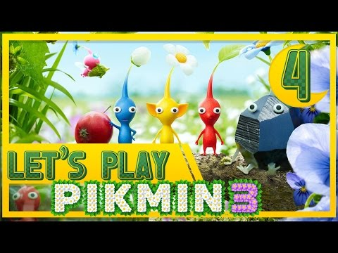 Let's Play Pikmin 3 - The Electric Slide - Day 4