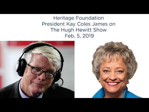 Kay Coles James on The Hugh Hewitt Show | The Heritage Foundation