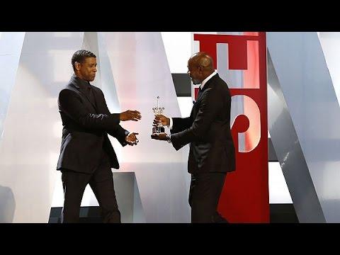 Denzel Washington presentó