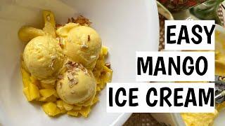EASY MANGO ICE CREAM