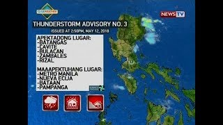 NTVL: Weather update as of 3:25 p.m. (May 121, 2018)
