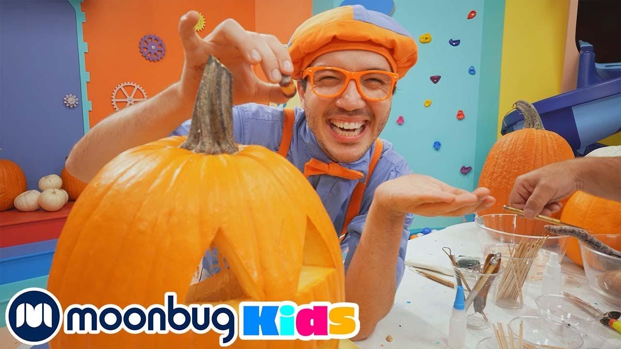 Especial de Halloween de Blippi - Vídeos Educativos para Niños | Moonbug Kids en Español