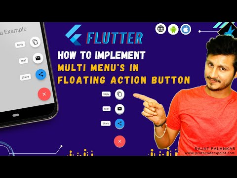 Flutter Expandable FAB menu |  Speed Dial package | floating action button | Flutter Tutorial