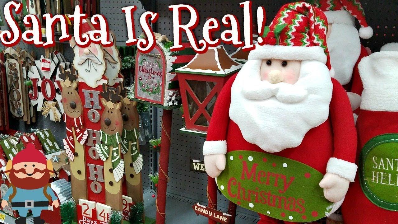 New Walmart Christmas Decor Shop With Me 2017 Youtube