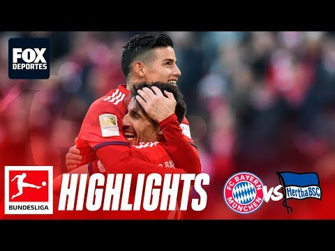 Bayern Munich 1-0 Hertha Berlín | HIGHLIGHTS | Jornada 25 | Bundesliga