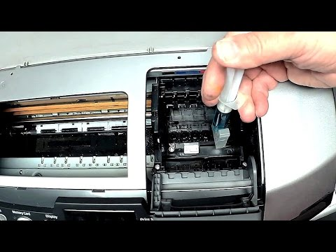 how to fix clogged printhead canon pixma