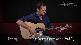 Wabi Sabi 12 String Acoustic Guitar by Luna Guitars