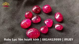 Giá đá ruby lục yên đỏ huyết tự nhiên bao nhiêu   IRUBY