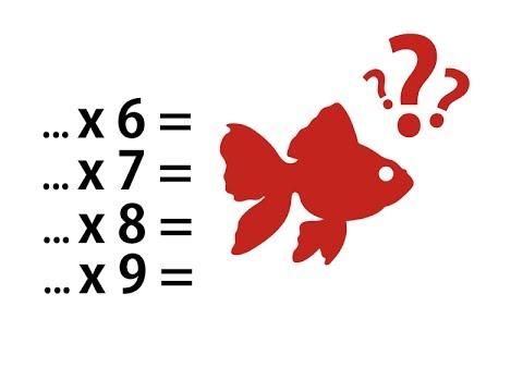 Tables De Multiplication De 6 7 8 Et 9 Plus Faciles Que Jamais