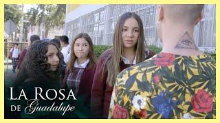 La Rosa de Guadalupe: Mine es acosada por Kevin   Silhouette Challenge: El Reto de la Silueta