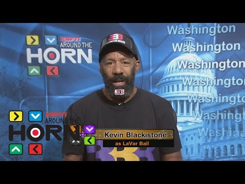 Around The Horn's Kevin Blackistone impersonates LaVar Ball   Around The Horn   ESPN
