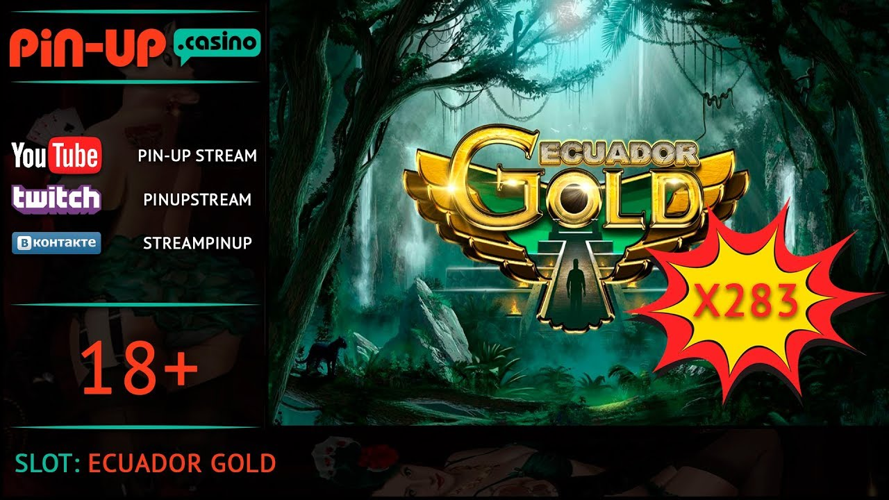 Большой выигрыш в слоте Ecuador Gold   Онлайн казино Pin-Up