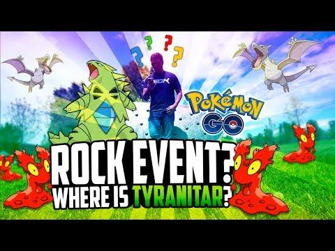 Pokemon Go - WHERE IS TYRANITAR? (VLOG!)