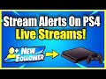 Gambar cover How to add TWITCH STREAM ALERTS on PS4 & Xbox No Capture Card FREE Method