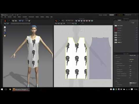 Marvelous Designer 3 - How to model the 3D clothing 'quick and easy'