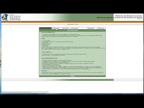 Online Brazilian Visa Application