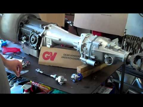 Part 2 Gear Vendors install on Ford C4 transmission for '67 ... Gear Vendors Wiring Diagram X Ford on