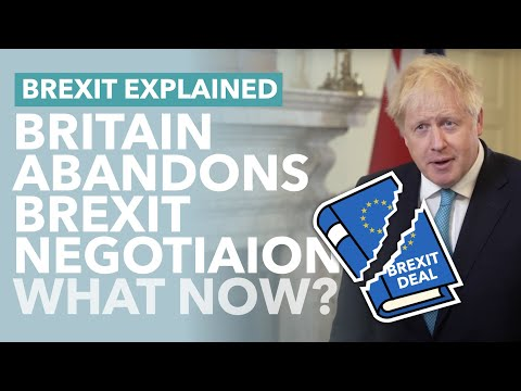 Johnson Tells Britain to Prepare for No Deal: What The Hell's Happening with Brexit? - TLDR News