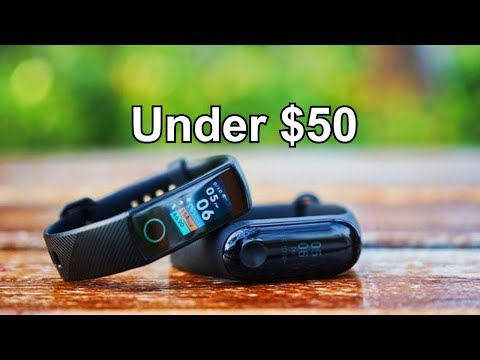 Best Smartband 2018 Under $50 - Top 5 Budget Fitness Tracker