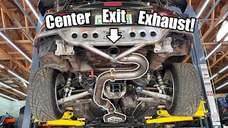 homepage tile video photo for Building a WILD Center Exit Exhaust For My LS3 Miata! (SOUNDS NUTS!) + More Custom Parts!