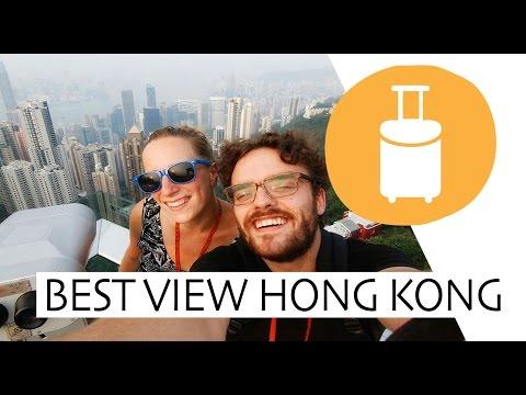 Visiting the Peak Tower in Hong Kong
