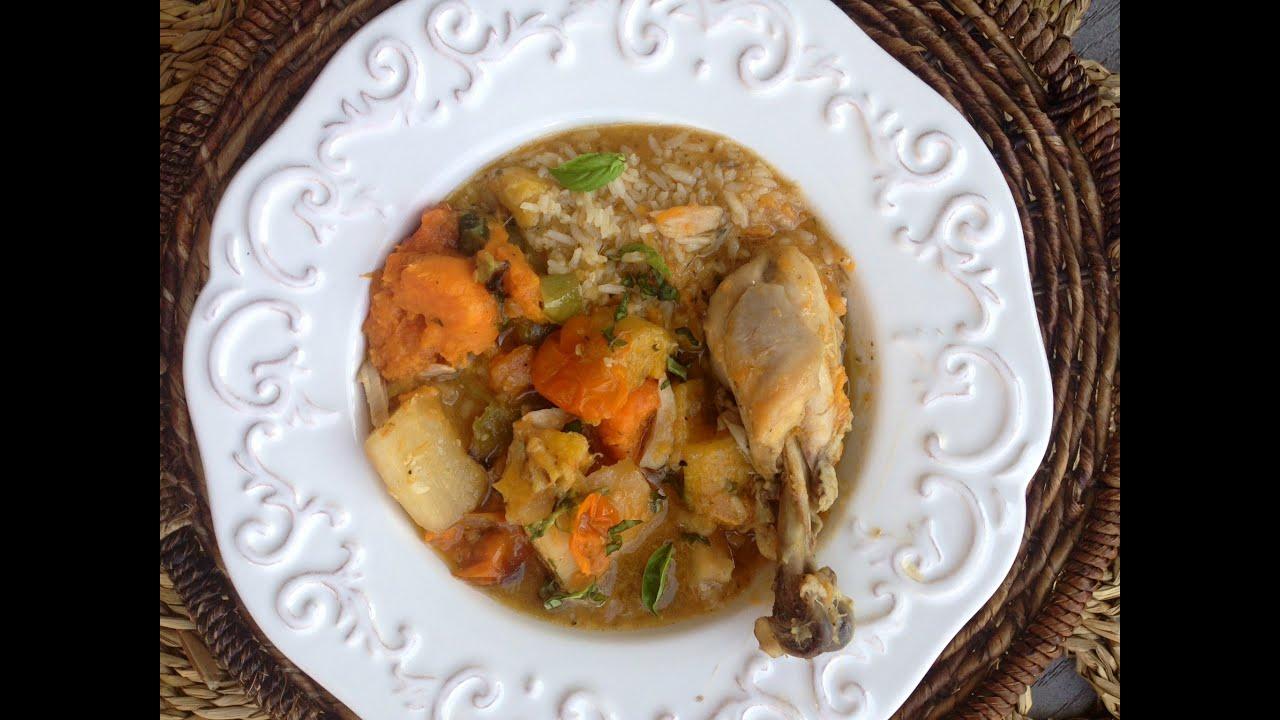 Sopa De Pollo Chicken Soup Family Favorite Cuban With A Twist Episode 23