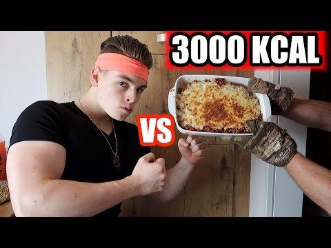 3000 KALORIEN IN 15 MINUTEN ESSEN CHALLENGE !!!