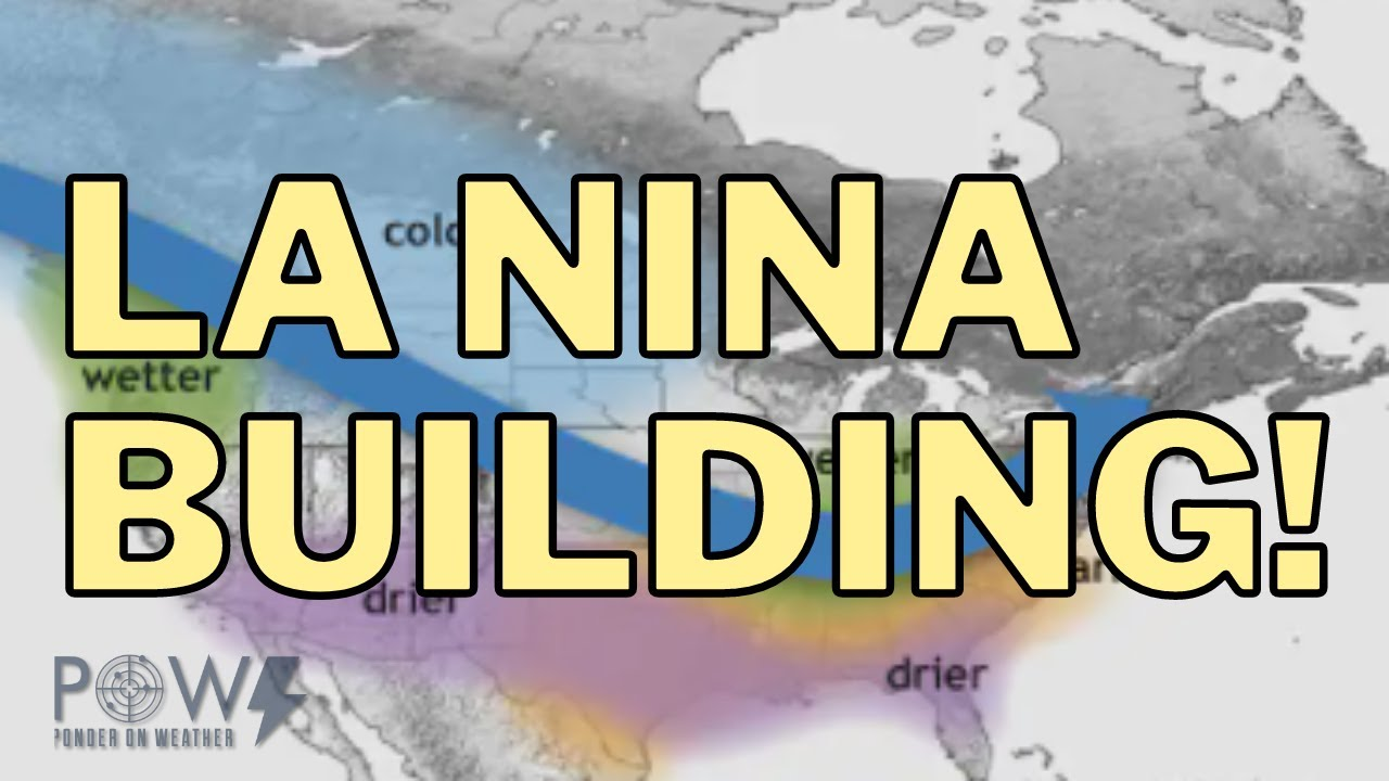 Developing La Nina For Fall & Winter 2021/22! Increased Hurricanes & Snowstorms! POW Weather Channel