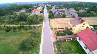 Wielka Wieś 2015 1080p Yuneec q500 4k drone run Wąchock Polska