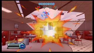 Martian Panic Wii gameplay